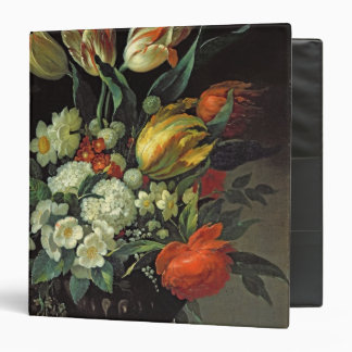 Still Life with Flowers, 1764 3 Ring Binder