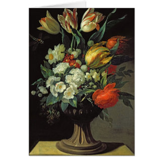 Still Life with Flowers, 1764 Card