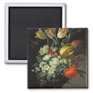 Still Life with Flowers, 1764 Magnet