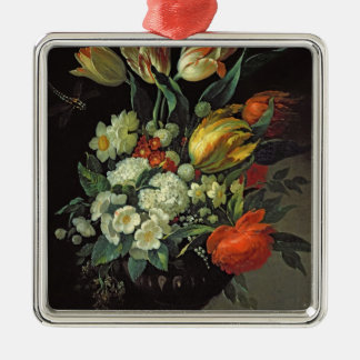 Still Life with Flowers, 1764 Metal Ornament