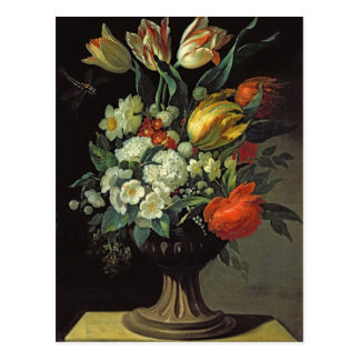 Still Life with Flowers, 1764 Postcard