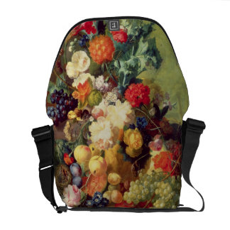 Still Life with Flowers and Fruit Courier Bag