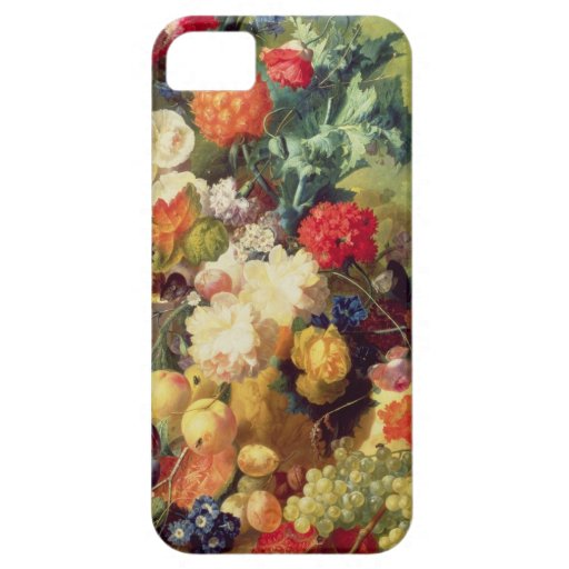Still Life with Flowers and Fruit iPhone 5 Covers