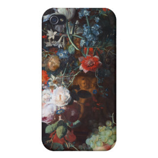 Still Life with Flowers and Fruit, Jan Van Huysum iPhone 4 Case