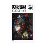 Still Life with Flowers and Fruit, Jan Van Huysum Postage Stamp