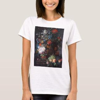 Still Life with Flowers and Fruit, Jan Van Huysum T-Shirt