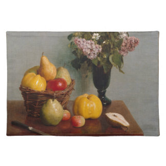 Still Life with Flowers and Fruit Placemat