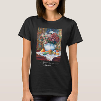 Still Life with Flowers and Prickly Pears Renoir T-Shirt