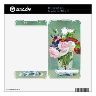 Still Life with Flowers by Edouard Manet HTC Evo 4G Decal
