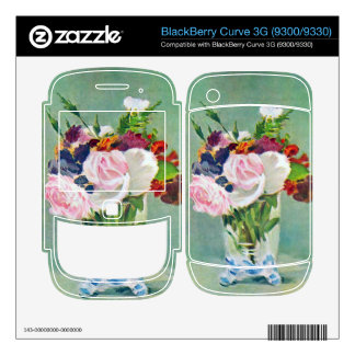 Still Life with Flowers by Edouard Manet BlackBerry Curve 3G Skin