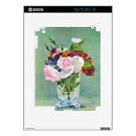 Still Life with Flowers by Edouard Manet iPad 2 Skin