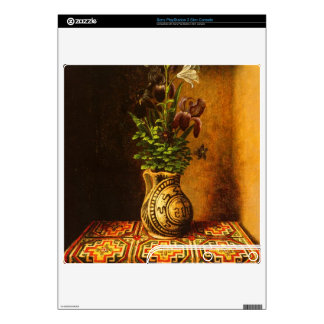 Still life with Flowers by Hans Memling Skin For PS3 Slim