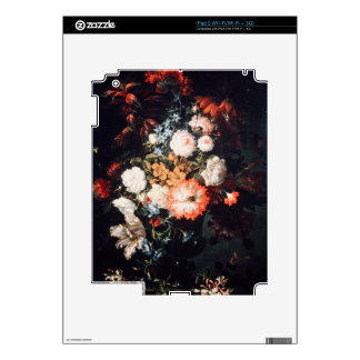 Still life with Flowers by Jean- Baptiste Monnover Skin For iPad 2