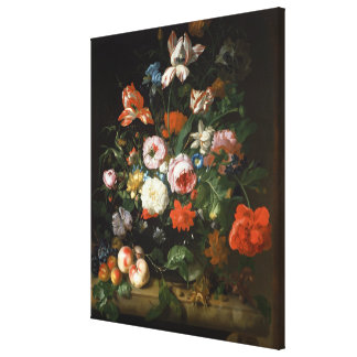 Still life with flowers gallery wrapped canvas