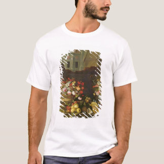 Still Life with Flowers, Fruits and Shells T-Shirt