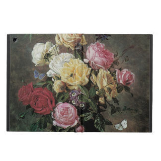 Still Life with Flowers in Vase by Olaf Hermansen Cover For iPad Air