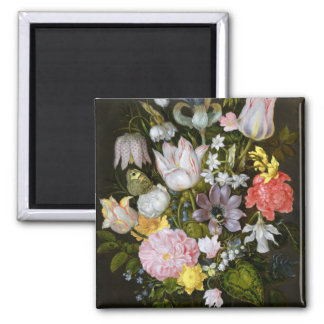 Still Life with Flowers Magnet