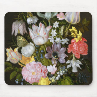 Still Life with Flowers Mouse Pad