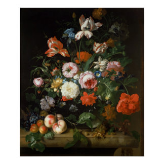 Still life with flowers posters