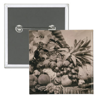 Still Life with Fruit, 1860 (sepia photo) Pin