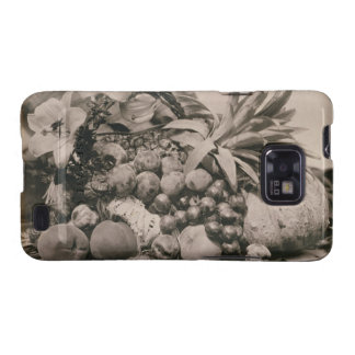 Still Life with Fruit, 1860 (sepia photo) Galaxy S2 Cover