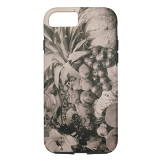 Still Life with Fruit, 1860 (sepia photo) iPhone 8/7 Case