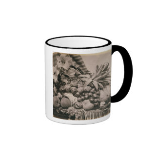 Still Life with Fruit, 1860 (sepia photo) Coffee Mug