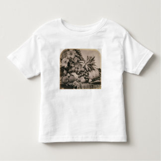 Still Life with Fruit, 1860 (sepia photo) Toddler T-shirt