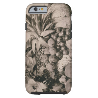 Still Life with Fruit, 1860 (sepia photo) Tough iPhone 6 Case