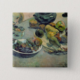 Still Life with Fruit, 1888 Pinback Button