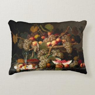 Still Life With Fruit Accent Pilllow Accent Pillow