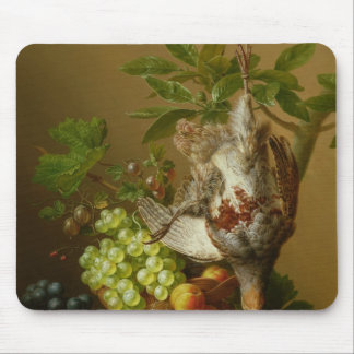 Still Life with Fruit and a Dead Partridge Mouse Pad
