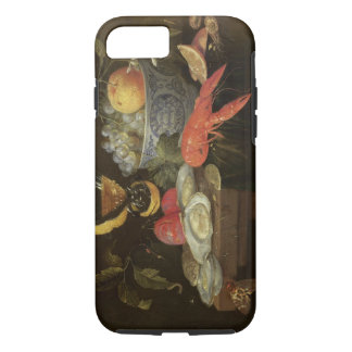 Still Life with Fruit and Shell Fish, 1653 (oil on iPhone 8/7 Case