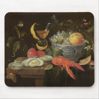 Still Life with Fruit and Shell Fish, 1653 (oil on Mouse Pad
