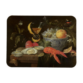 Still Life with Fruit and Shell Fish, 1653 (oil on Rectangular Photo Magnet
