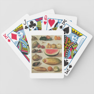 Still Life with Fruit and Toad Bicycle Playing Cards
