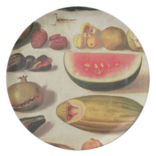 Still Life with Fruit and Toad Party Plate