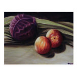 Still Life with Fruit and Veg Post Card