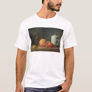 Still Life with Fruit and Wine Bottle T-Shirt