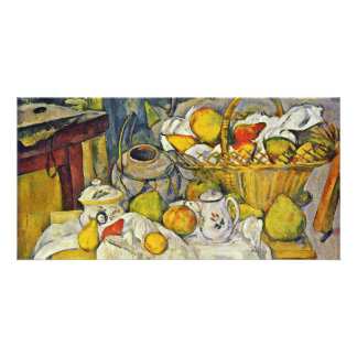 Still Life With Fruit Basket By Paul Cézanne Photo Cards