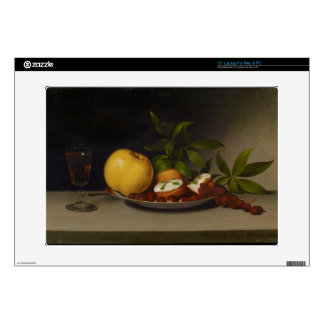 Still Life with Fruit, Cakes and Wine, 1821 Skin For Laptop