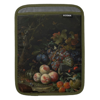 Still Life with Fruit, Foliage and Insects, c.1669 iPad Sleeve