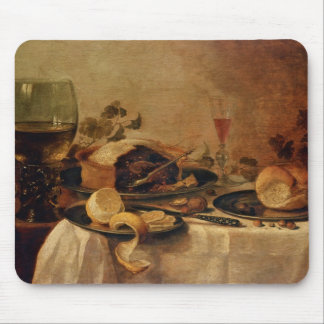 Still Life with Fruit Pie, 1635 Mousepads