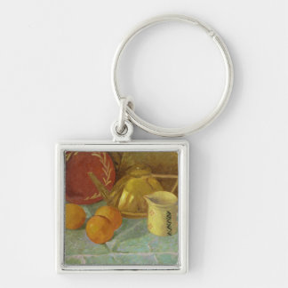 Still Life with Fruit & Pitcher or Keychain
