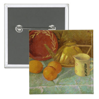 Still Life with Fruit & Pitcher or Pinback Button