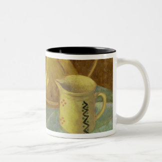 Still Life with Fruit & Pitcher or Two-Tone Coffee Mug