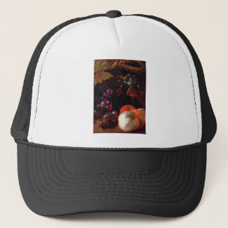 Still life with fruits by Nicolas de Largillière Trucker Hat