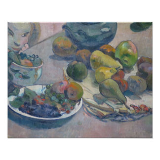 Still Life With Fruits by Paul Gauguin Poster