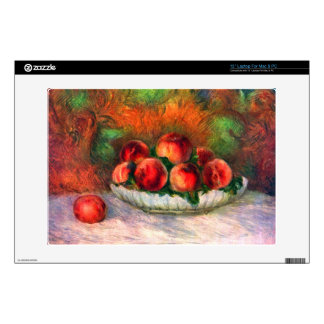 """Still life with fruits by Pierre Renoir 13"""" Laptop Skin"""