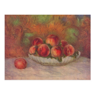 Still life with fruits - Pierre-Auguste Renoir Postcard